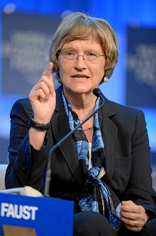 Women in Economic Decision-making Drew Gilpin Faust (8414040540).jpg