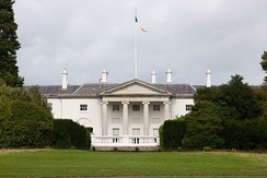 Áras an Uachtaráin, the official residence of the President of Ireland