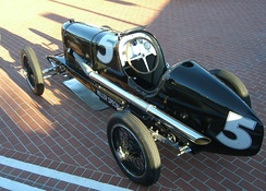 "1924 Miller 122/183 ""Convertible"" (designed to be converted quickly from one engine to another) ran at 151.26 mph, at Muroc Dry Lake, California"