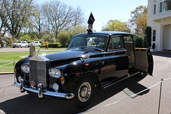 1970 Rolls-Royce Phantom VI limousine, the official car used on ceremonial occasions to transport the Governor-General of Australia and visiting heads of state.