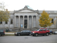 The Blackstone Library built in 1904 is one of the oldest libraries in the city