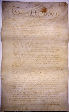 The Articles of Confederation and Perpetual Union.