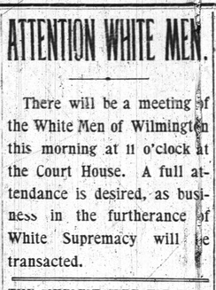 """Wilmington Messenger."" Nov 9, 1898"