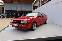 1987 MB-engined Audi quattro