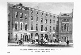 Sir Joseph Banks' house was the initial meeting place for the Zoological Society