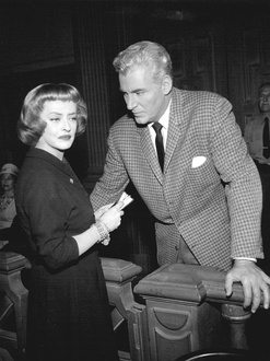 "Bette Davis and William Hopper in ""The Case of Constant Doyle"""