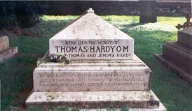 Burial place of Thomas Hardy's heart