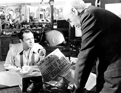The National Board of Review recognized both Welles and George Coulouris for their performances in Citizen Kane (1941), which was also voted the year's best film.