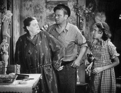 Marie Dressler and Wallace Beery in Min and Bill (1930)