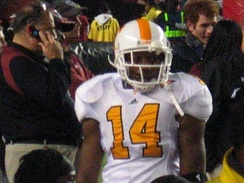 Berry in 2008 as a member of the Tennessee Volunteers.