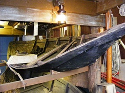 Flatner in the Watchet Boat Museum.
