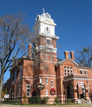 Gwinnett Historic Courthouse in Lawrenceville