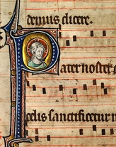 Musical notation from a Catholic Missal, c.1310–1320