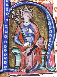 14th-century portrait of Cnut the Great
