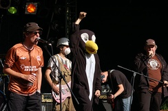The ska punk group Kollmarlibre are avowed supporters of FC St. Pauli.