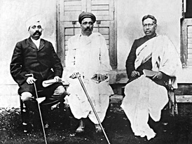 Lala Lajpat Rai (left) of Punjab, Bal Gangadhar Tilak of Maharashtra, and Bipin Chandra Pal of Bengal, the triumvirate were popularly known as Lal Bal Pal, changed the political discourse of the Indian independence movement.