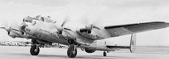 RCAF 405 Squadron Lancaster 10MP Maritime Patrol aircraft in February 1953