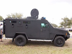 Lenco BearCat owned by the Lee County Sheriff's Office (Florida) SWAT team