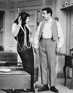 "Ford's appearance as ""Cousin Ernie"" in three episodes of I Love Lucy made him a household name."