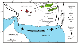 Makran subduction zone