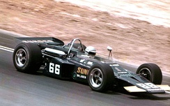 Mark Donohue won the inaugural Pocono 500 in 1971.