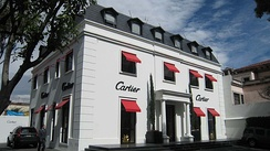 Cartier on Mexico City's Avenida Presidente Masaryk