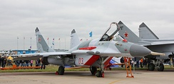 MiG-29SMT at the 2011 MAKS