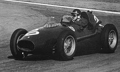 Mike Hawthorn won the 1958 World Championship of Drivers, driving a Ferrari 246 F1
