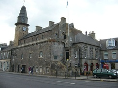 Tolbooth in the High Street