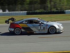 The CTS-V in 2011 at Road Atlanta.