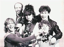 Picture, a pub rock group. This is an early 1980s photo.