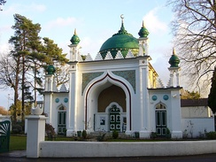 Shah Jahan Mosque in Woking is the oldest purpose-built mosque in the United Kingdom.