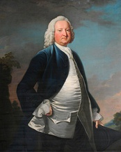 Welsh Tory Sir Watkin Williams-Wynn; his blue coat was often worn by Jacobite sympathisers