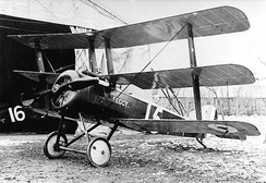 The Sopwith Triplane, the first triplane to see service in World War I.
