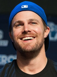 Stephen Amell, Canadian actor.