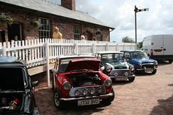 Minis on display at Bardney Heritage Centre