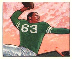 Y. A. Tittle was the Colts' quarterback from 1948 to 1950.