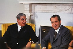The Nixon administration was widely criticised for its close ties with the military junta led by General Yahya Khan. American diplomats in East Pakistan expressed profound dissent in the Blood Telegram.