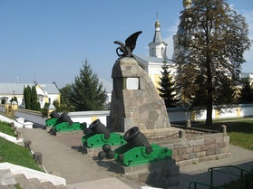 Monument to victory near Kobryn