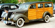1937 Ford Deluxe Station Wagon