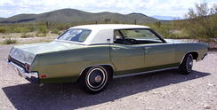 1970 Ford LTD four-door hardtop