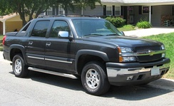 GMT800 Chevrolet Avalanche WBH