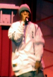 Redman performing at the 2004 NBA All-Star Jam Session in Los Angeles