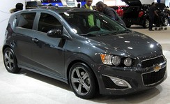 2013 Chevrolet Sonic RS (US)