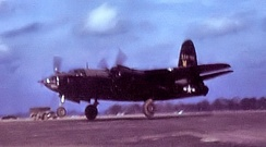 Martin B-26G-1-MA Marauder painted black for night reconnaissance missions of the 654th Bomb Squadron.