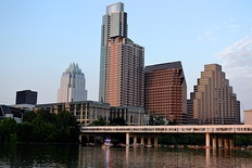 Downtown Austin skyline, 2013