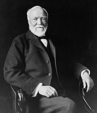 Andrew Carnegie, founder of the Carnegie Technical Schools