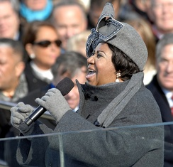 "Aretha Franklin is widely known as the ""Queen of Soul"""