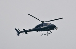 BBC News helicopter in use over London
