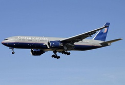 On May 15, 1995, United Airlines received the first Boeing 777-200 and made the first commercial flight on June 7